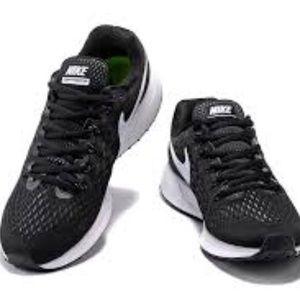 finest selection 93b33 24985 Nike Shoes - Nike Zoom Pegasus 34 Mesh BlkWhite Mens Shoes 12